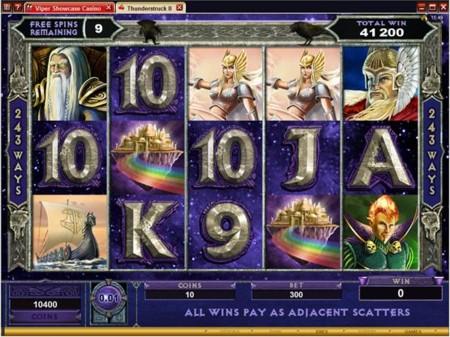 Thunderstruck II Slot Odin Bonus