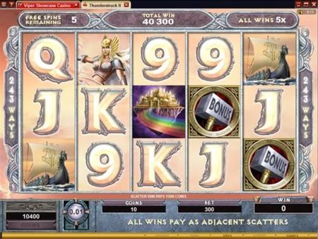 Thunderstruck II Slot Valkyrie Bonus