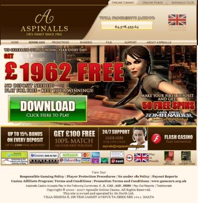 Aspinalls Casino Lobby