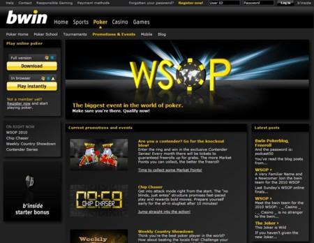 Bwin Poker Lobby
