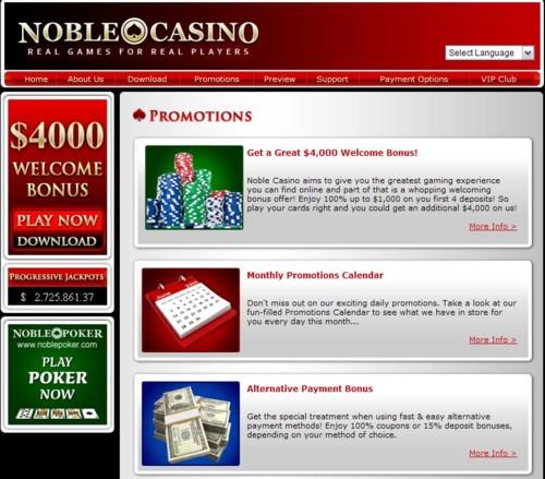 Noble Casino Lobby