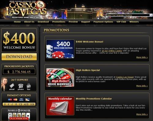 Casino Las Vegas Lobby