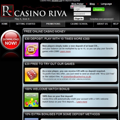 Bonus casino riva blackjack card rules uk
