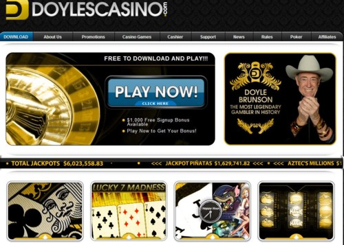 Doyles Casino Lobby