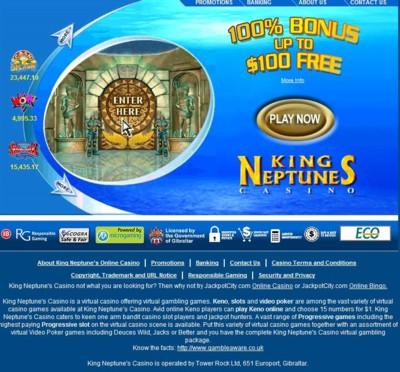 King Neptunes Casino Lobby